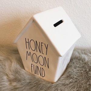 New Rae Dunn HONEYMOON FUND bank